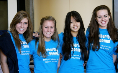 Charity Denim Girls T-Shirt Photo
