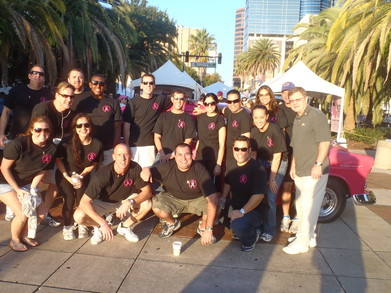 Making Strides Against Breast Cancer T-Shirt Photo