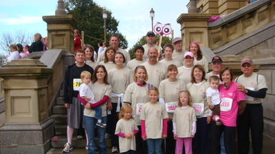 One Hoot For Heather, Komen Des Moines Race For The Cure T-Shirt Photo