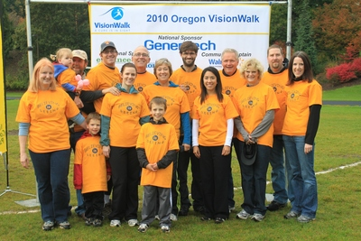 2010 Portland Vision Walk T-Shirt Photo