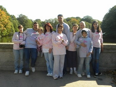 Team Rose For The Cure! T-Shirt Photo