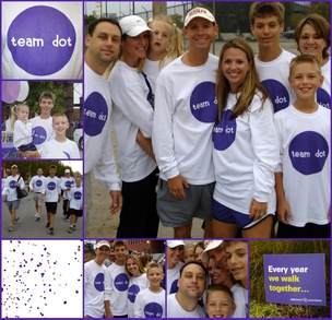 Team Dot Alzheimer's Memory Walk T-Shirt Photo