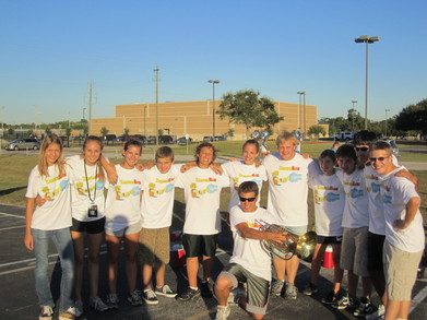 Clear Lake Horn Section 2010! T-Shirt Photo