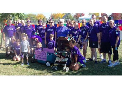 Memory Walk 2010 Team Ruthie T-Shirt Photo