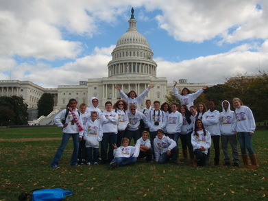 Mva 8th Grade Tours White House T-Shirt Photo