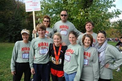 Nikki At The 2010 Marine Corp Marathon T-Shirt Photo