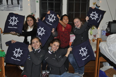 The Wellesley College Sailing Team Loves Our Nautical Totes! T-Shirt Photo