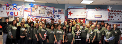 Pepsi Co Supports Our Troops!  Welcome Home! T-Shirt Photo