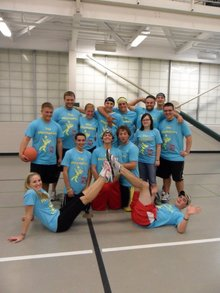 The Playmakers Dodgeball T-Shirt Photo