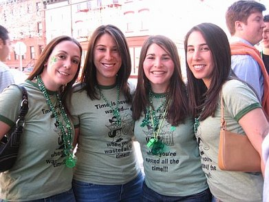 Hoboken St. Patty's Day 2007 T-Shirt Photo