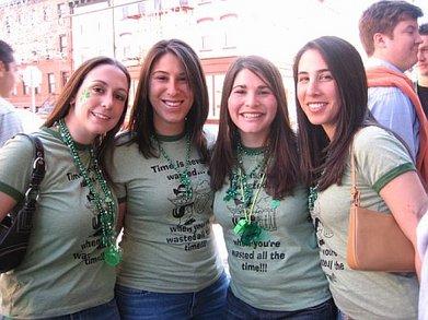 Hoboken St. Patty's Day 2007 T-Shirt Photo