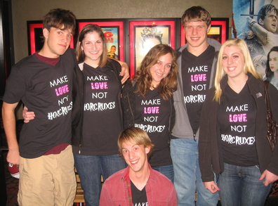 Make Love Not Horcruxes T-Shirt Photo