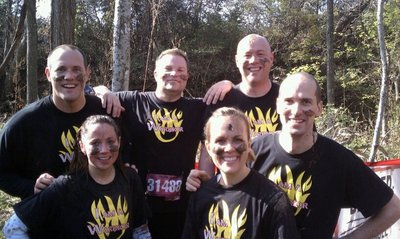 Warrior Dash 2010 T-Shirt Photo