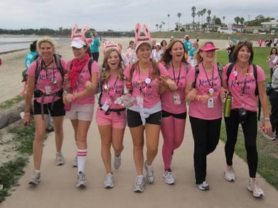 Adventure Girlz At San Diego 3 Day Walk T-Shirt Photo