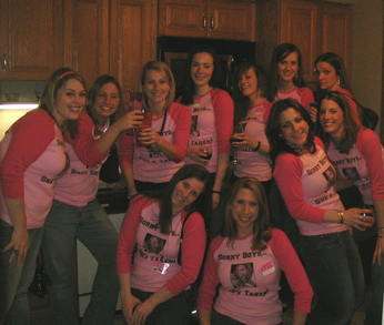 Sandy's Bachelorette Party T-Shirt Photo