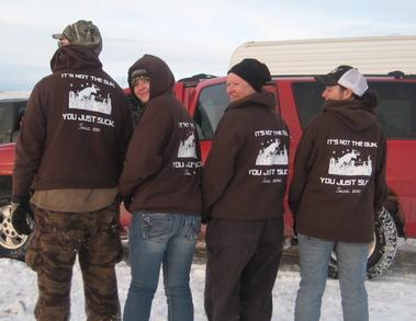 Saco Hunting Camp 2010 T-Shirt Photo