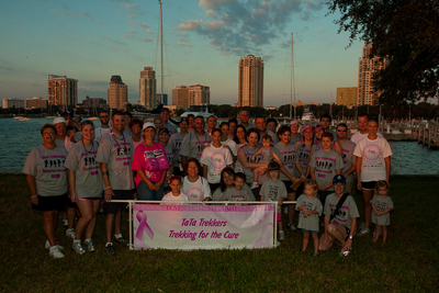 Race For The Cure Team Photo T-Shirt Photo