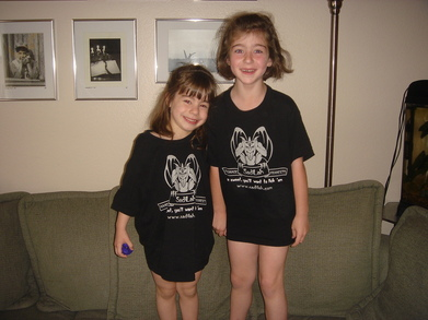 My Two Biggest Fans!!! T-Shirt Photo