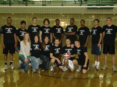Ecu Mens Volleyball T-Shirt Photo