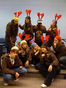 Pgp Reindeer Rappers T-Shirt Photo