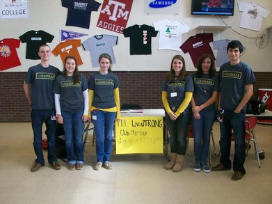 Rel Live Strong Club Officers T-Shirt Photo