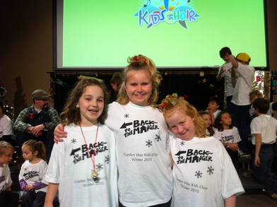 Kids Choir Girls T-Shirt Photo