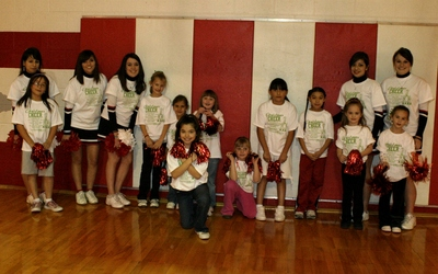Minatare Cheerleaders & Future Cheerleaders T-Shirt Photo