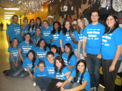 Park Center Senior Class Cabinet Class Of 2011 Shirts T-Shirt Photo