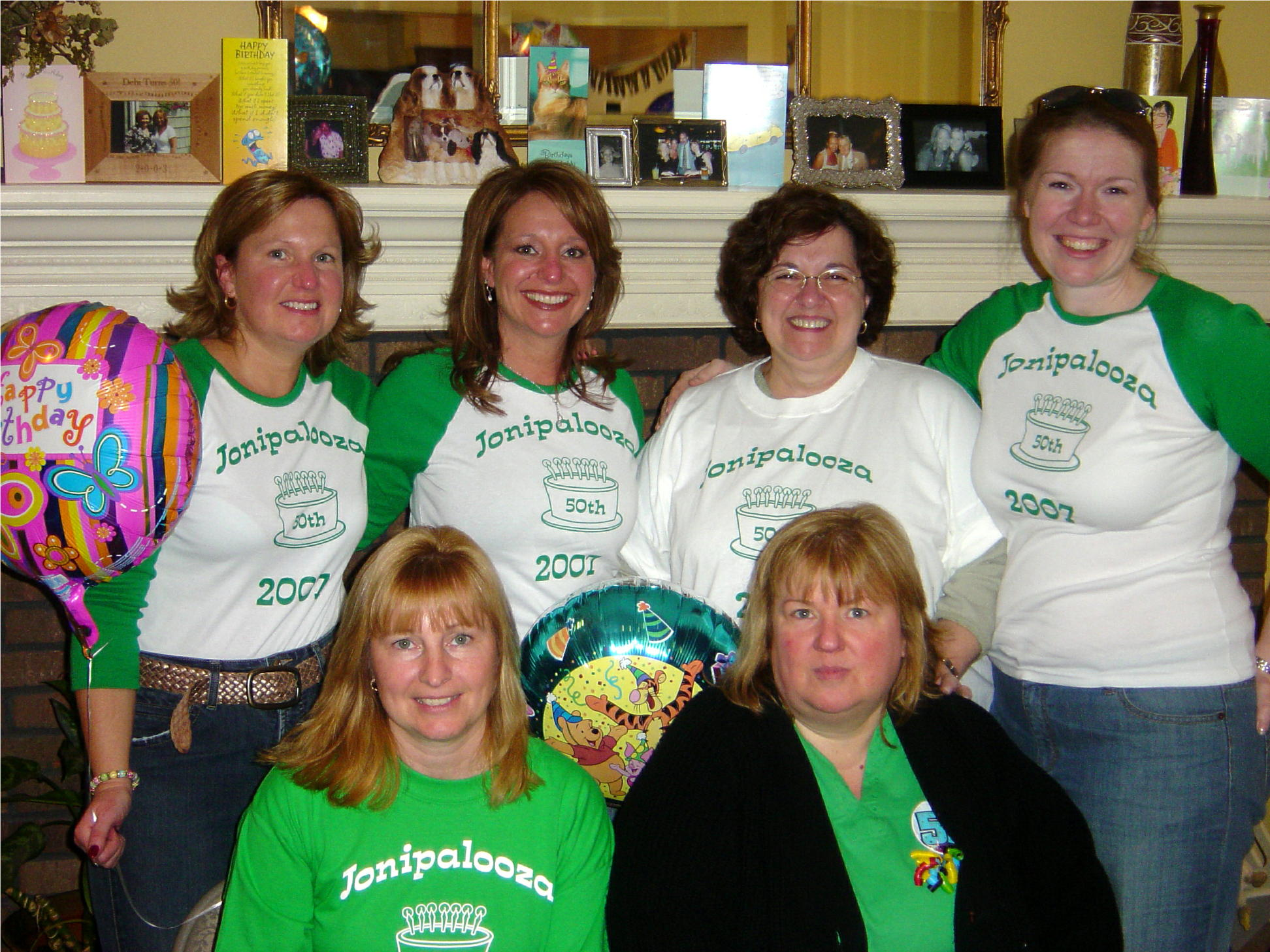 Surprise 50th Birthday St Pattys Day T Shirt Photo