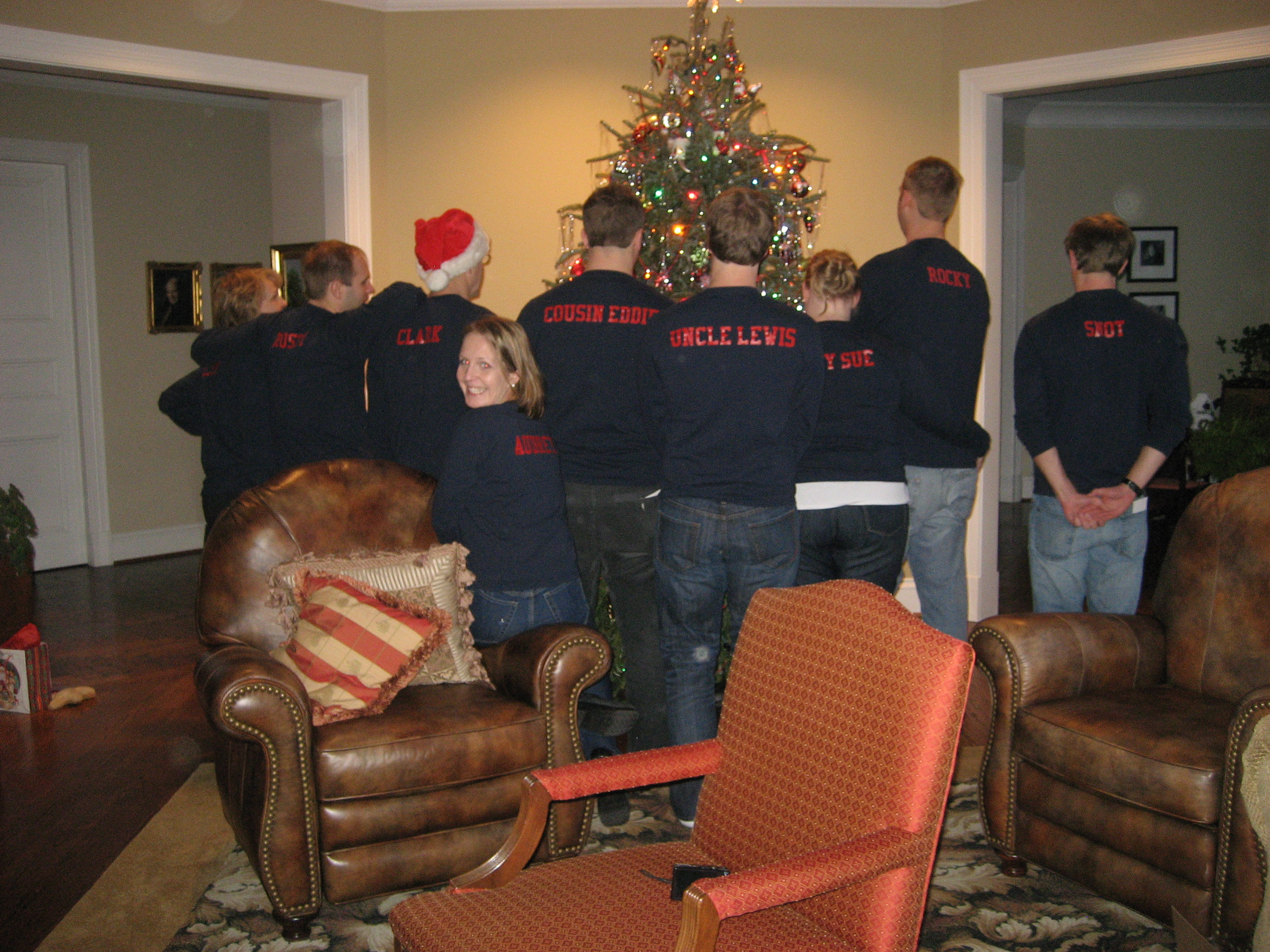 gris wallaces christmas vacation 2010 t shirt photo
