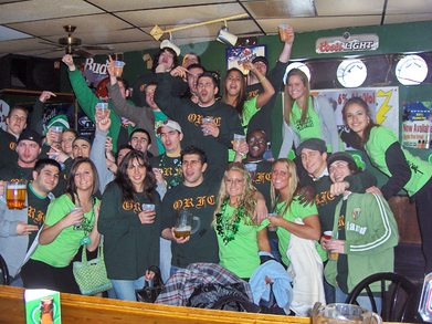 Oneonta State Rugby Barcrawl T-Shirt Photo