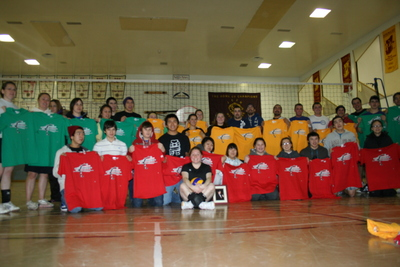 Winners At Our Annual Volleyball Tournament T-Shirt Photo