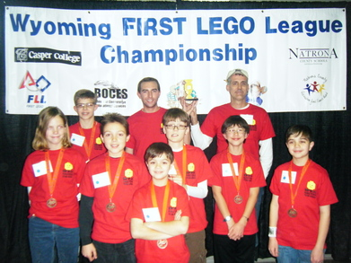 Cheyenne's First Lego Team Wins 2nd Place! T-Shirt Photo
