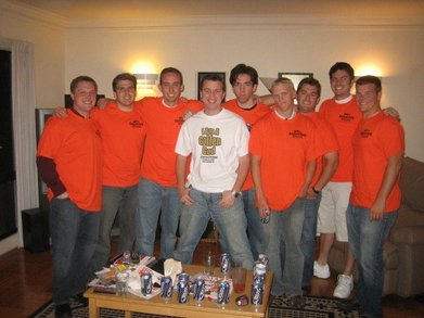 Mike's Bachelor Party T-Shirt Photo