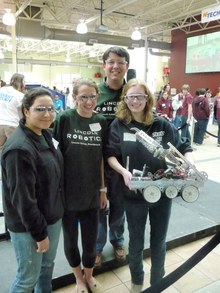 Lincoln School's Robotics Team At Our First Tech Challeng T-Shirt Photo