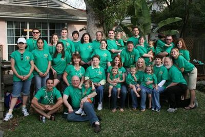 Fitz Family Crawfish Boil And St. Patrick's Day Parade T-Shirt Photo