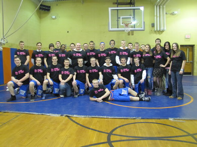 Woodstown Wrestled For The Cause T-Shirt Photo