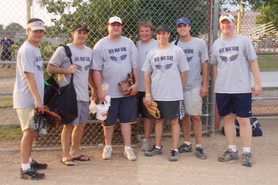 No Ma'am Softball Team T-Shirt Photo