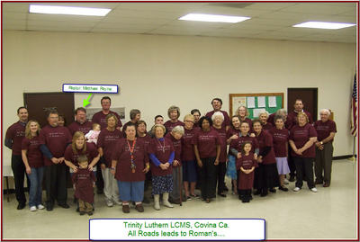 Our Beloved Trinity Congregation T-Shirt Photo
