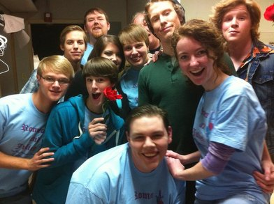 The Cast Of Romeo And Juliet At Our Theater T-Shirt Photo