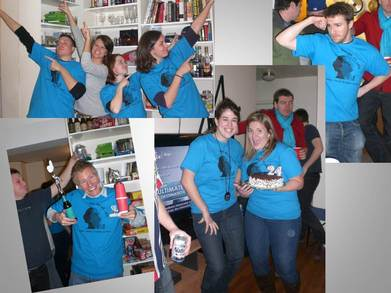 Kate's 24th Birthday T-Shirt Photo