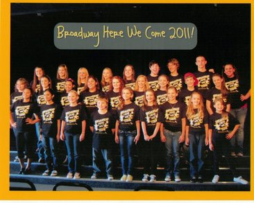 Broadway Here We Come! T-Shirt Photo