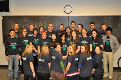 Northeastern University Heat!  T-Shirt Photo