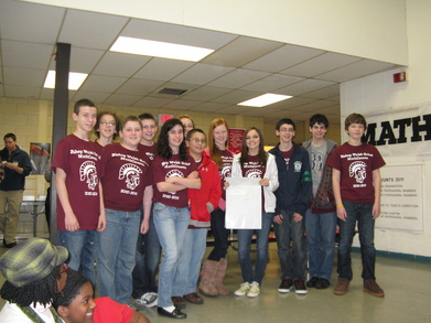 Bishop Walsh School Math Counts Team T-Shirt Photo