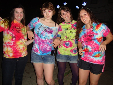 Female Dogs & Garden Hoes T-Shirt Photo