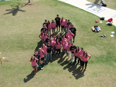 "Mhs Is "" Racing For A Cure!"" T-Shirt Photo"