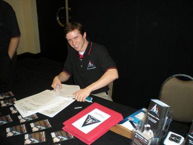 Ben Corbin Models The A4 H Polo T-Shirt Photo