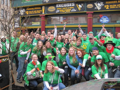 9th Annual Shamrocked On The Southside Bar Crawl T-Shirt Photo