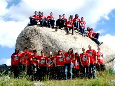 """Momentum Winter Camp 2011"" T-Shirt Photo"