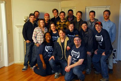 "The Cast And Crew Of ""Breaking!"" T-Shirt Photo"